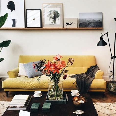 little yellow couch 25 best small sofa ideas on pinterest