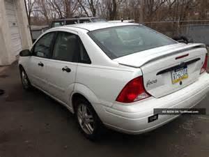 2000 Ford Focus Se 2000 Ford Focus Se Sedan 4 Door 2 0l
