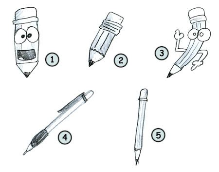 4 Drawing Pencil by How To Draw A Pencil