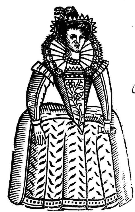 painted elizabethan woman. Woodcut | Tudor history