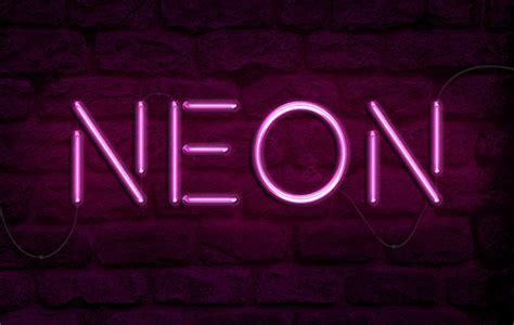 lights text how to create a realistic neon light text effect in adobe
