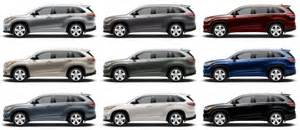 Toyota Highlander Colors 2015 Toyota Highlander Hybrid Review