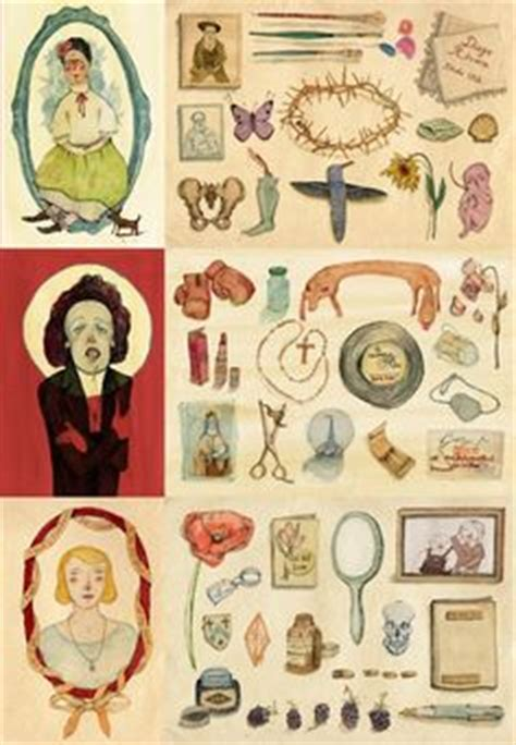 doodle edith piaf treasures the personal keepsakes possessions of frida