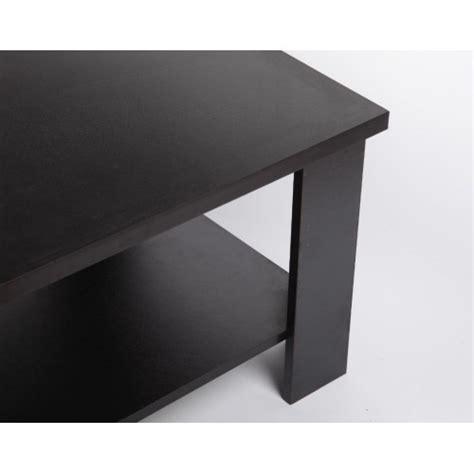 Coffee Table Alct 120 120 x 60 cm coffee table black