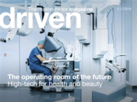driven magazine the operating room of the future