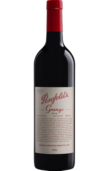 Penfolds Grange australian wine exceptional wine portfolio