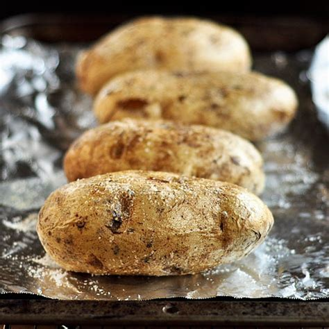 how to bake a potato in the oven cooking lessons from