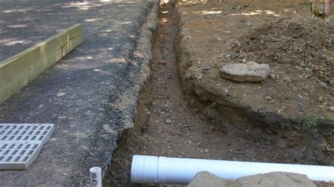 driveway drainage options concrete paving contractor