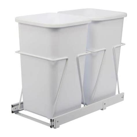 Cabinet Trash Can Home Depot by Knape Vogt 19 In X 11 38 In X 23 In In Cabinet Pull
