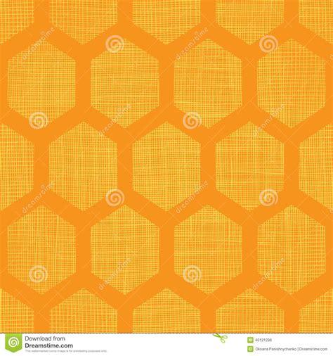 honeycomb seamless pattern royalty free vector image abstract honey yellow honeycomb fabric textured seamless pattern background stock vector image