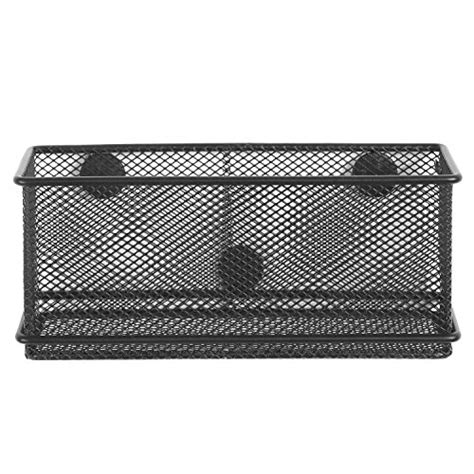 wire mesh desk accessories black wire mesh magnetic basket storage tray office