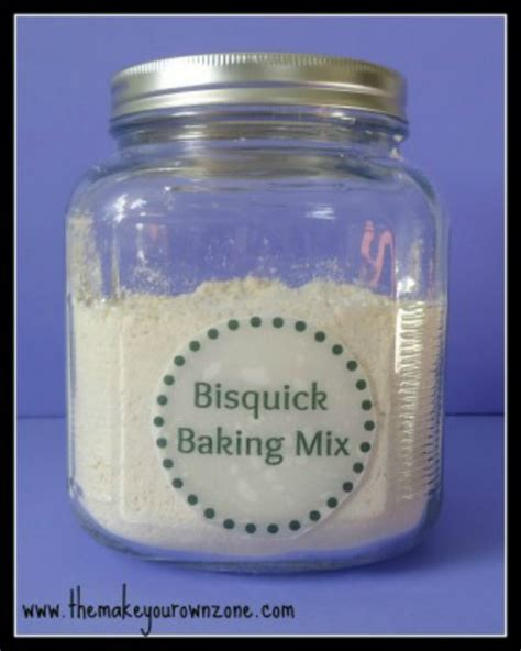 bisquick baking mix recipe the make your own zone