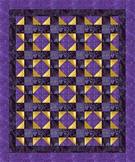 Crown Quilt Pattern by Crown Royal Quilt Pattern 50 Quot X 60 Quot Free Shipping
