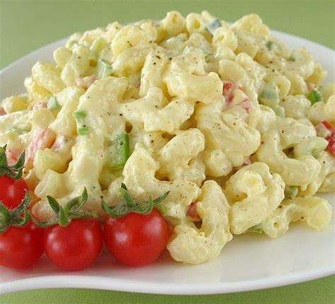 macaroni salad simple macaroni salad recipe dishmaps