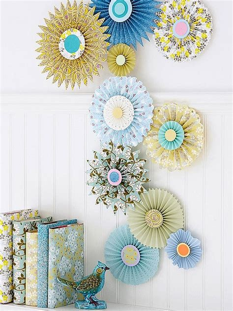 paper inspired decor fun ways     kids