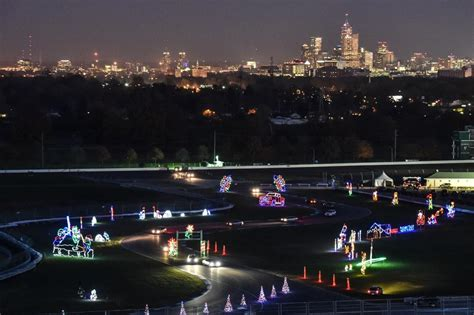 indianapolis speedway christmas lights indianapolis is the capital of holiday lights 2 city