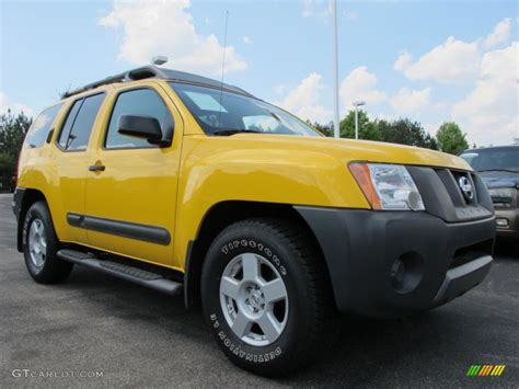2006 solar yellow nissan xterra s 63243458 gtcarlot car color galleries