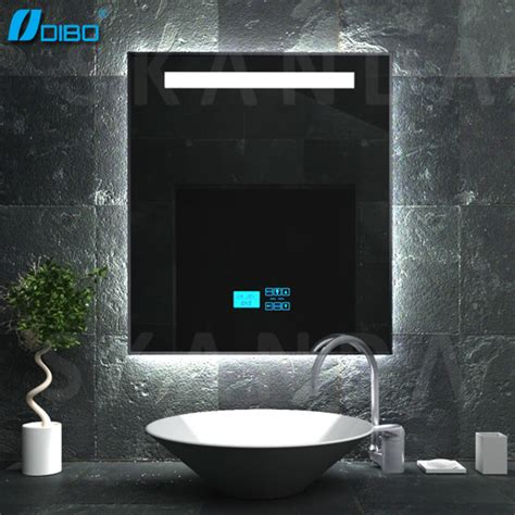 radio bathroom mirror touch screen bathroom mirror radio buy bathroom mirror radio touch screen clock