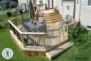 Deck Plans Com 2 Level Diy Deck Plans