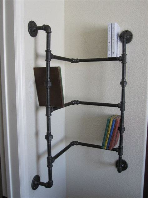 best 25 pipe bookshelf ideas on diy