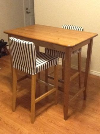 Kitchen Bar Table Ikea Ikea Leksvik Bar Table Dining Set Craigslist 180 Kitchen Bar Tables Ikea Sosfund