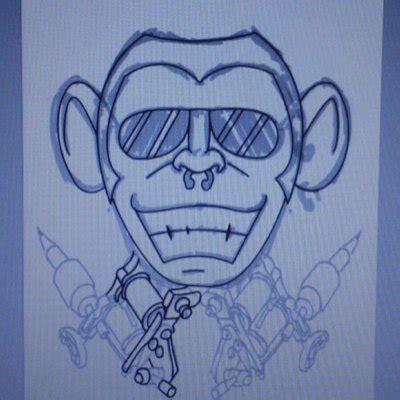 monkey tattoo jakarta monkey tattoo jd tattoo twitter