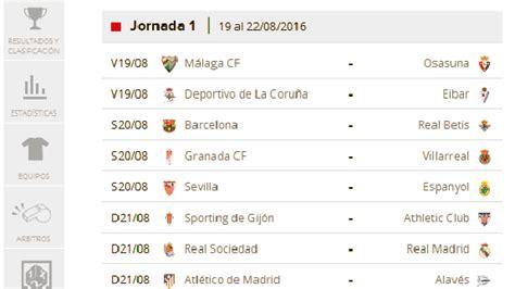 Calendario De Liga Santander Calendario Liga Santander 1 Printable 2018 Calendar