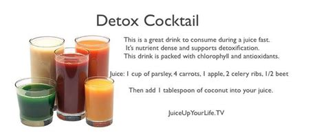 Smoothies To Help Detox From Chemo And Brain Surgery by Detox Cocktail Http Www Juicewithdrew Me