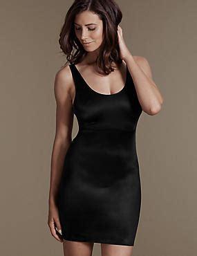 Marks Spencer Lace Trim Bodysuit Size 12uk slips petticoats silk slip dresses m s