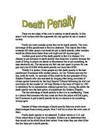 Penalty Cons Essay by Research Paper Exle Penalty