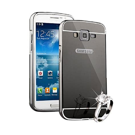 Casing Hp Samsung Grand Neo jual bumper mirror slide alumunium metal sliding casing for samsung galaxy grand neo
