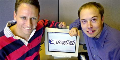 elon musk early years peter thiel paypal paid customers business insider