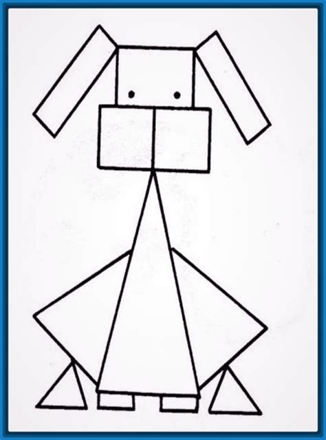 imagenes de lineas geometricas monstruosos dibujos faciles con lineas buuuuh
