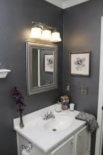 Gray silver white purple bathroom love the color scheme