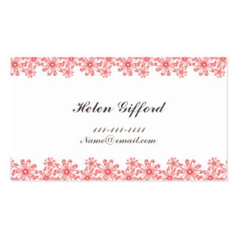 business card border template border business cards templates zazzle
