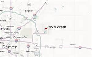 denver colorado airport map denver international airport location guide