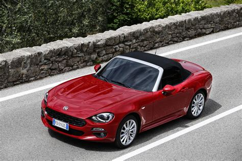 fiat spider fiat 124 spider named european car of the year 2017