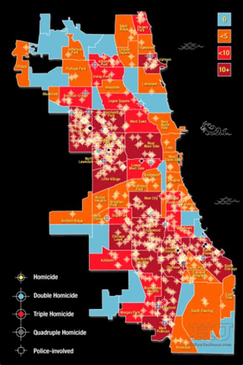 chicago map by crime 2015 stats chicago murder crime heyjackass