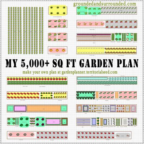 plan a vegetable garden my 5 000 sq ft vegetable garden plan grounded surrounded