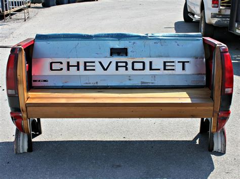 truck bed bench 19 upcycling projects from salvage dawgs diy home decor