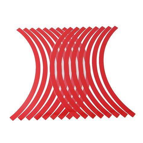 Motorrad Sticker Rot by Felgenrandaufkleber Felgen Aufkleber Motorrad Quad Auto