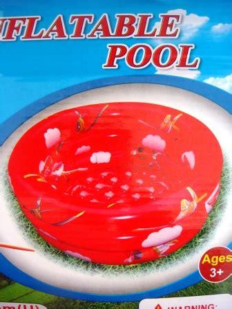 Kolam Renang Bestway Princes 130 Cm dunia balon anak kolam renang anak alas gelembung