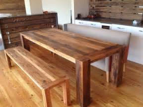 reclaimed dining room table rustic modern furniture reclaimed wood dining room table
