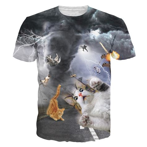 8 Funniest Cat T Shirts by Alisister New Fashion Cat T Shirt Print