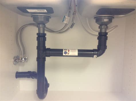 plumbing a kitchen sink kitchen sink installation callaway plumbing and drains ltd