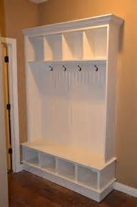 Mudroom Storage Bench Entryway Storage Bench And Wall Cubbies Woodworking Projects Plans