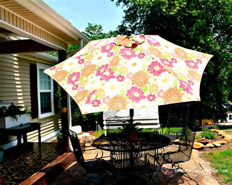 How To Clean A Patio Umbrella Chaotically Creative How To Clean Patio Umbrella