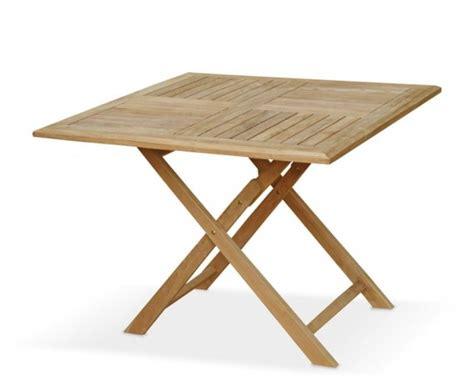 large square folding table suffolk teak square folding table
