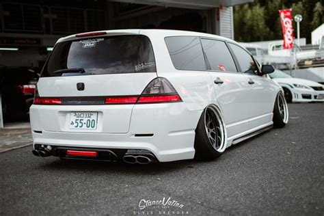 slammed honda a closer look at aimgain japan the odyssey