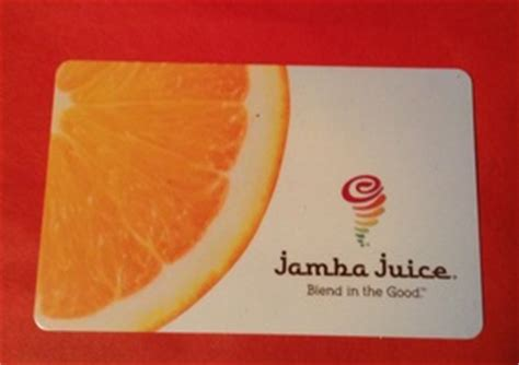 Jamba Juice Gift Card Promotion - subscription box swaps jamba juice gift card 10